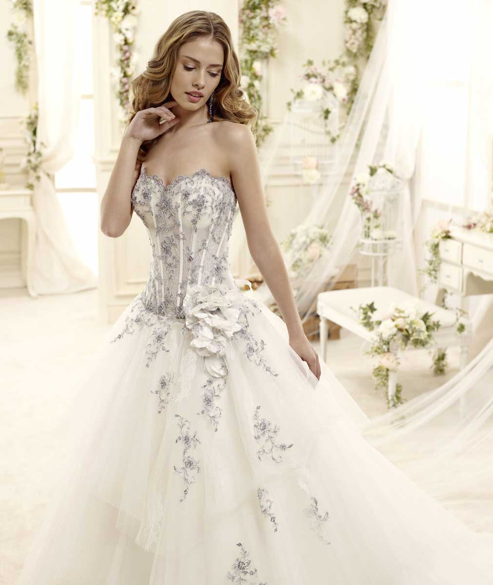 Favorito Abiti da sposa colorati AK99