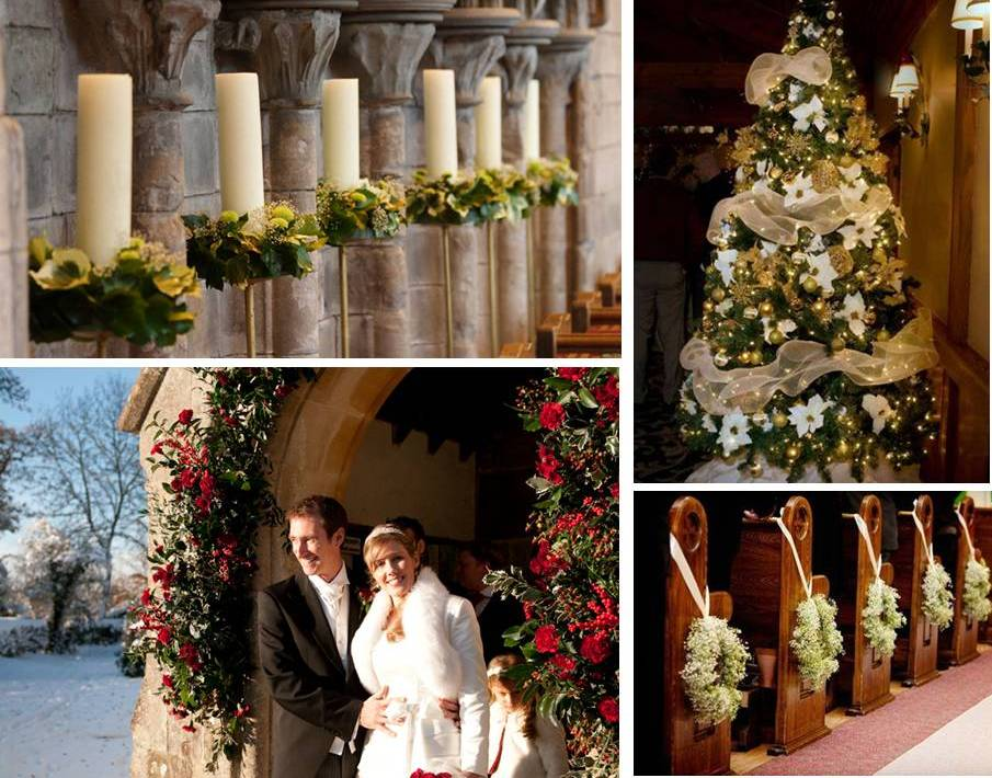 Matrimonio a natale for Addobbi tavoli matrimonio con candele