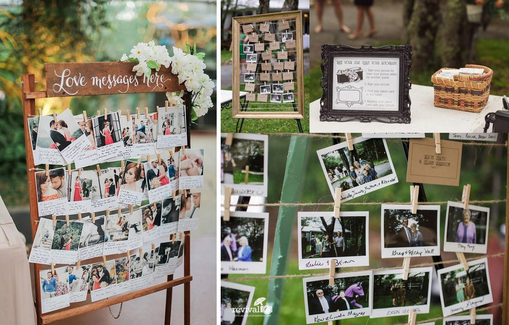 Guest book 7 idee per avere un ricordo originale da for Idee per appendere foto