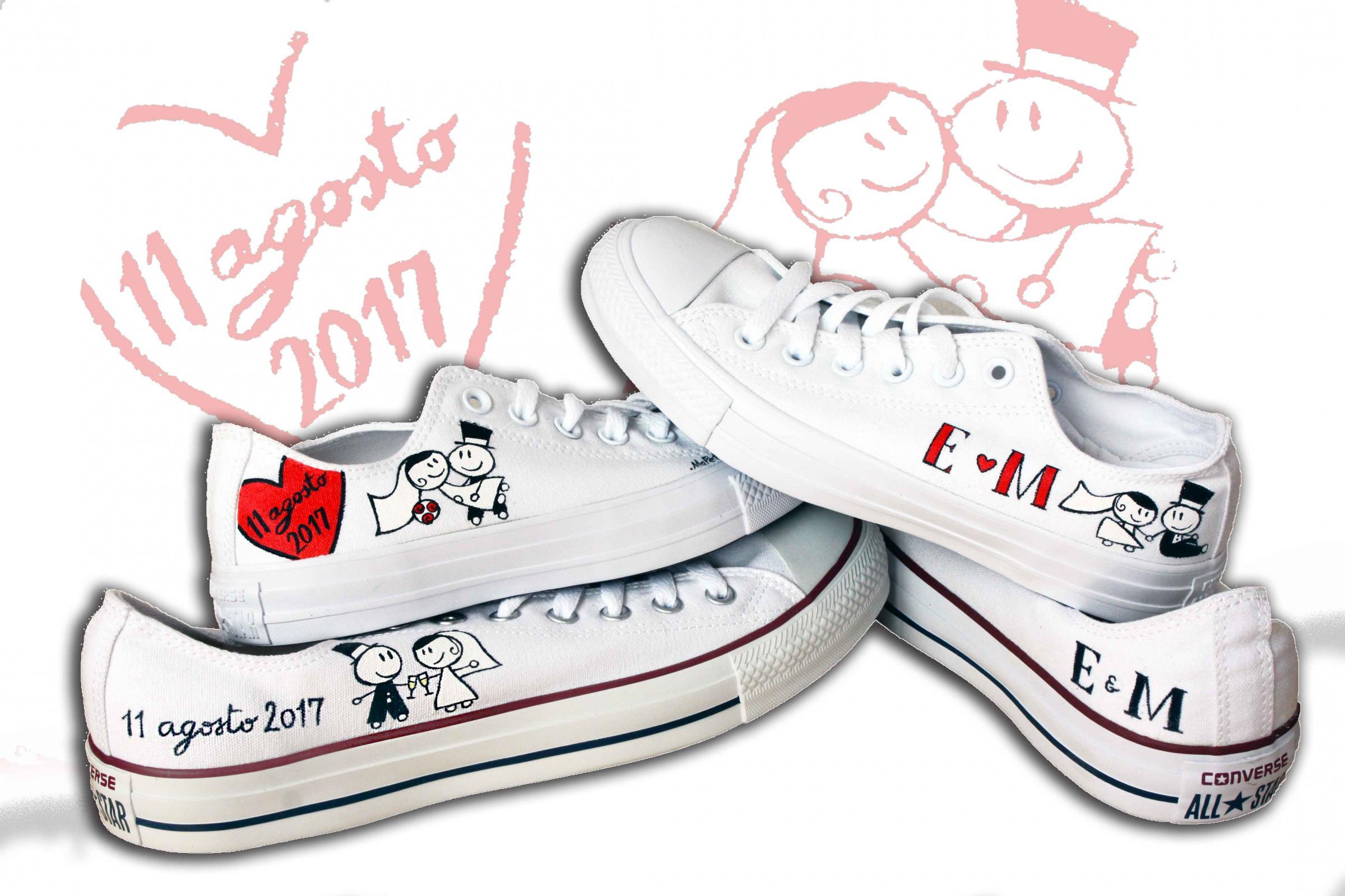 Scarpe personalizzate mapet shoe matrimonio nelle marche - Scarpe da letto ...