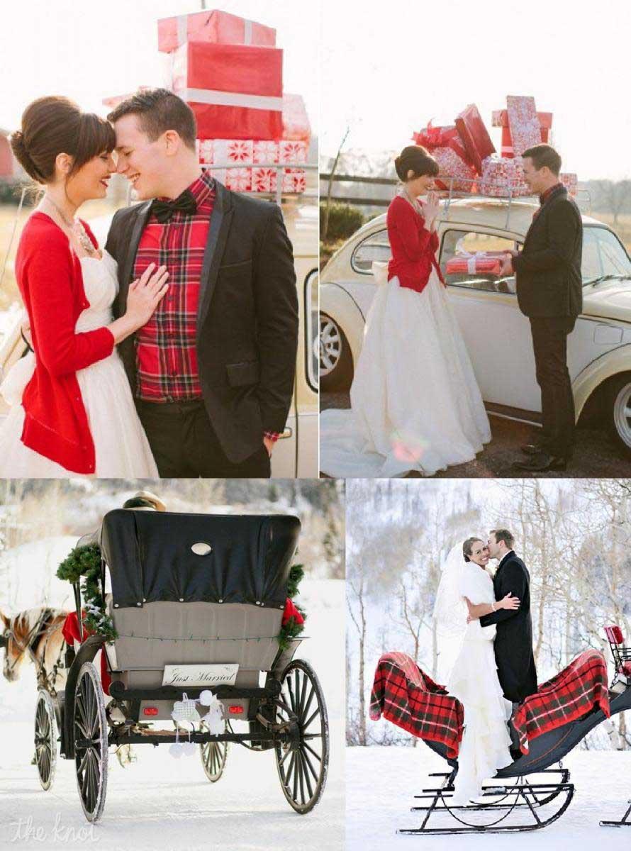 Matrimonio Natalizio Abito : Un romantico matrimonio natalizio organizzazione