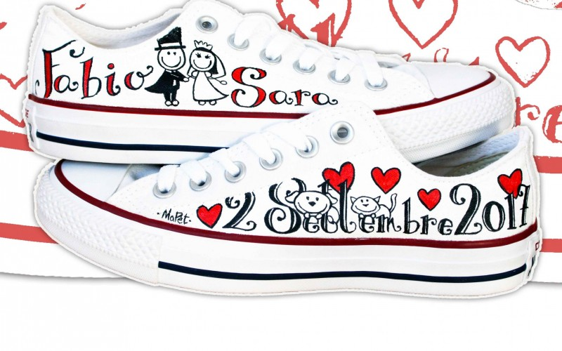 Scarpe Personalizzate Sposa.Scarpe Personalizzate Mapet Shoe Matrimonio Nelle Marche