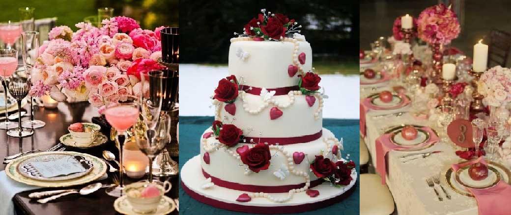 Sposarsi a san valentino giorno degli innamorati - Decorazioni tavola san valentino ...